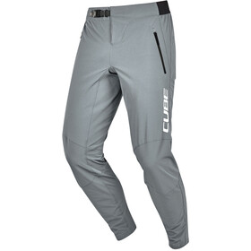 Cube Edge Baggy Pants Men, grey